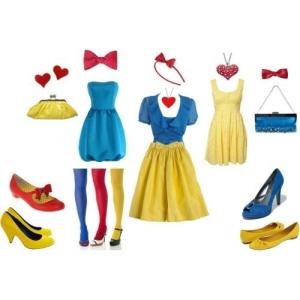 snow white wardrobe