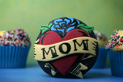 cupcake, mother's day