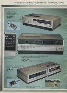 expensive vcr