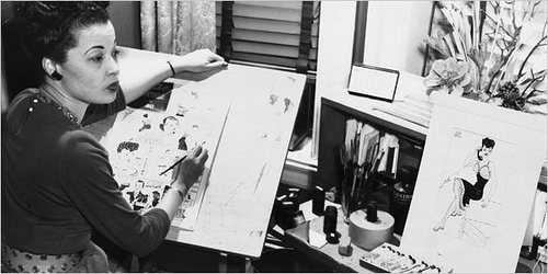 jackie ormes 1st black female cartoonist