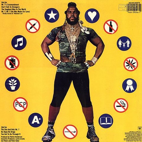 mr.t say no to drugs