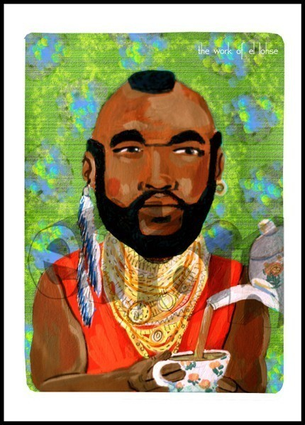 mr.t tea painting