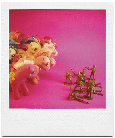 my little pony vs. army guys