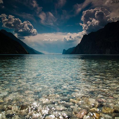 nature,water, rocks, sky