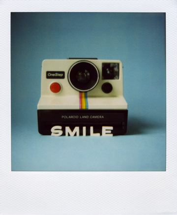 polaroid smile