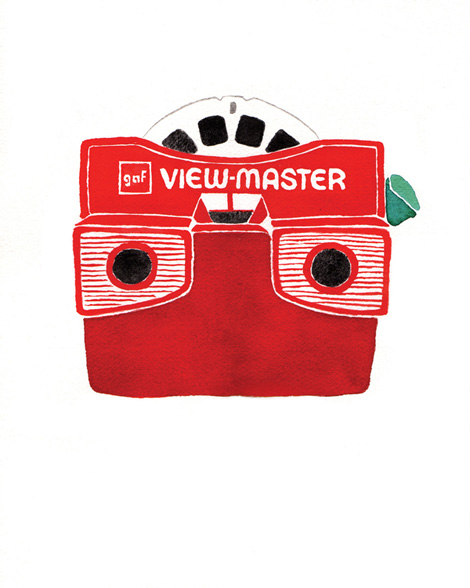 viewmaster drawing