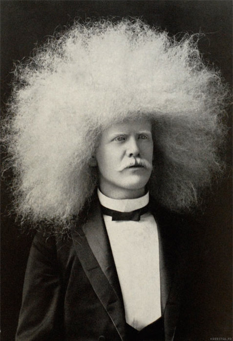white-afro-circus-freaks-on-vintage-photo