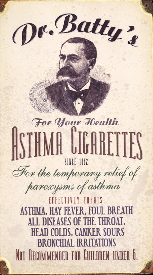 asthma cigarettes