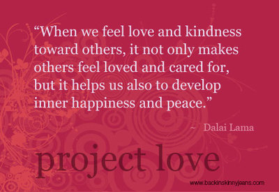 dalai lama quote project love