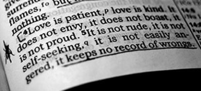 love is patient in bible