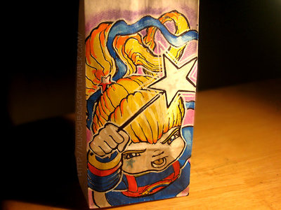 lunch bag, rainbow brite