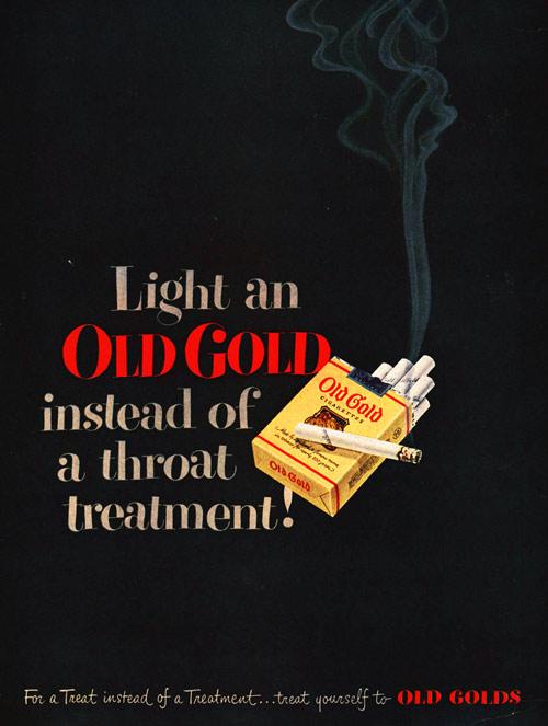 throat cigarettes