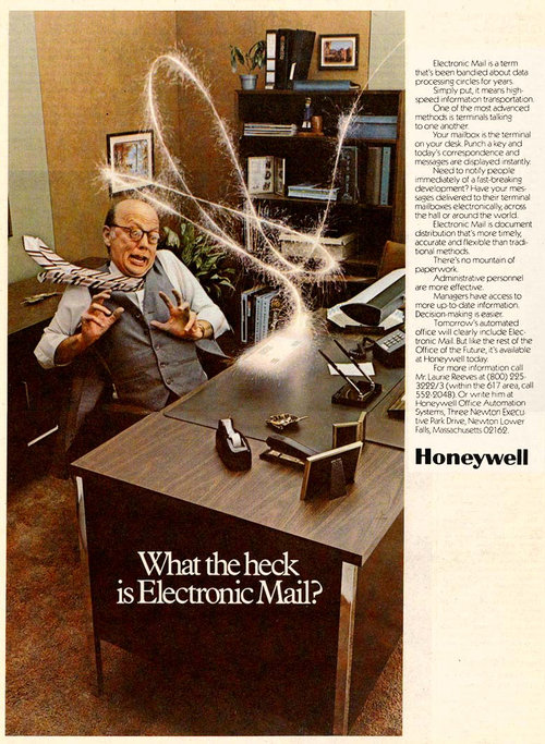 what the heck is electonic mail