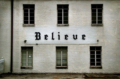 believe on church