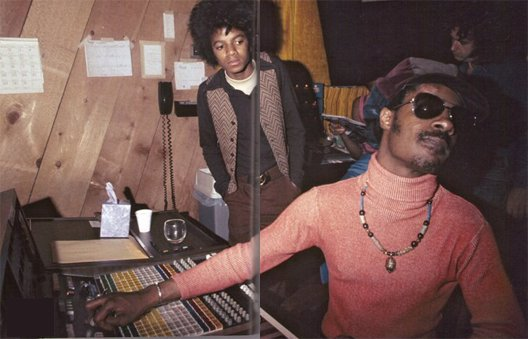 mj and stevie wonder