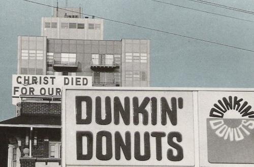 christ dunkin donuts