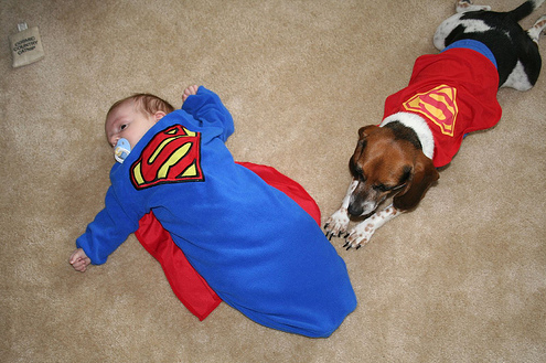 halloween supermen