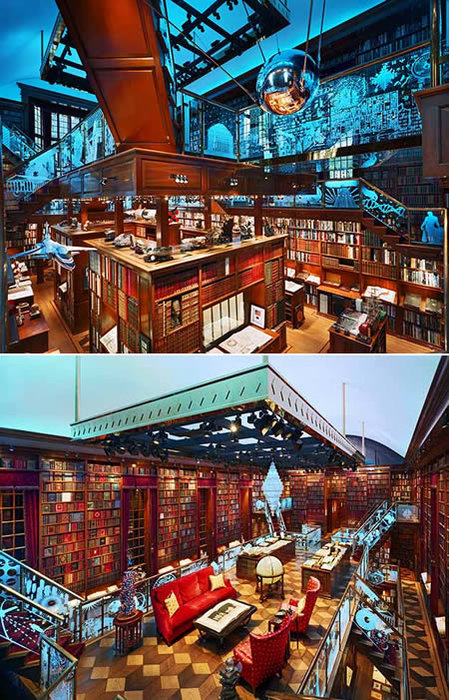 jay walker's library