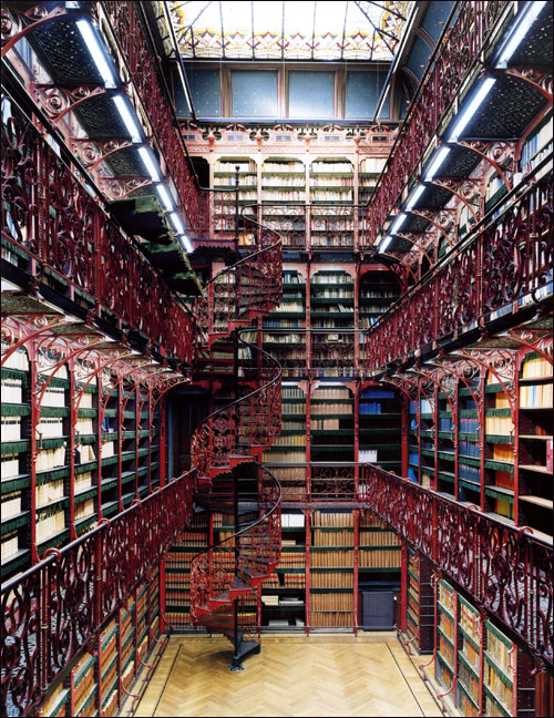spiral aisle libraries mulatto diaries