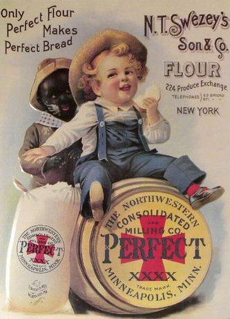 racist ad perfect flour