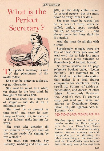 what is the perfect secretary