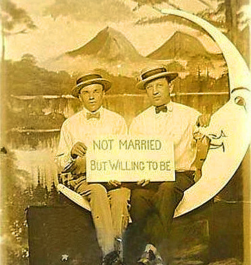 not married but willing to be