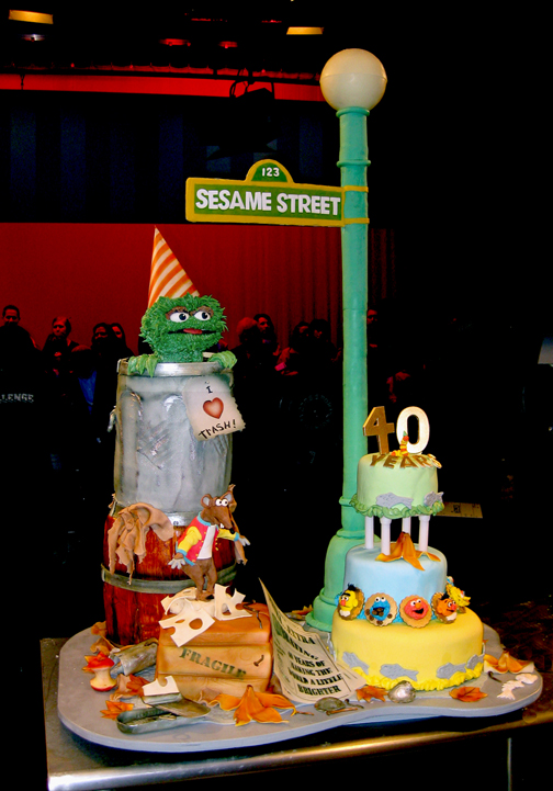 Food Network's Challenge Sesame Street Cake. As Sesame Street celebrates its
