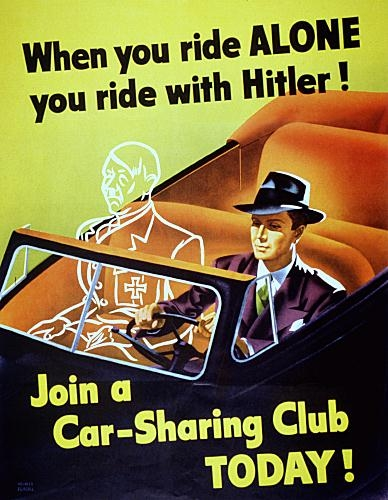 when you ride alone you ride with hitler