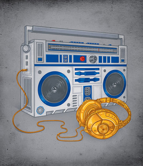 Boombox Pop Art my dog | mulatto diari...