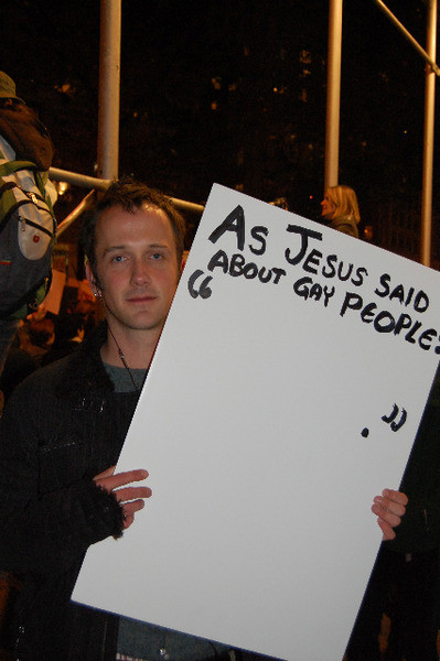 from Vance gay marriage jesus