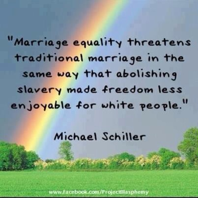 marriage equality abolishing slavery