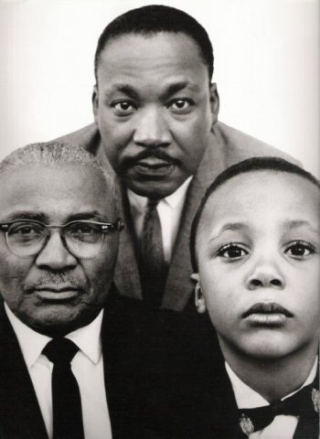 mlk w:father and son 1963