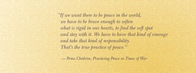 pema practice of peace