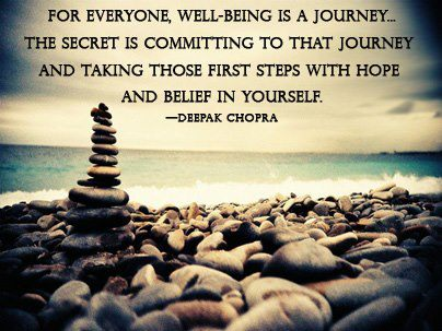 well being is a journey