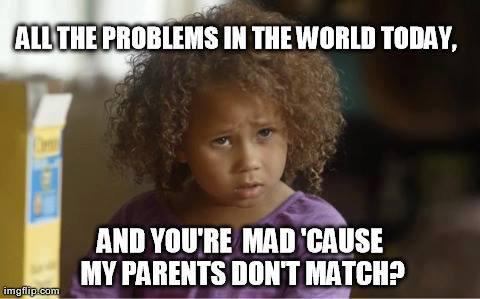 (1) Raising Bi-racial children best essay